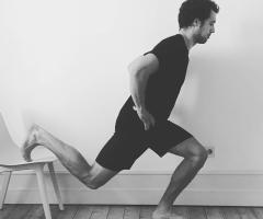 Isometrisches Training Kniebeuge bei Sehnenproblematik